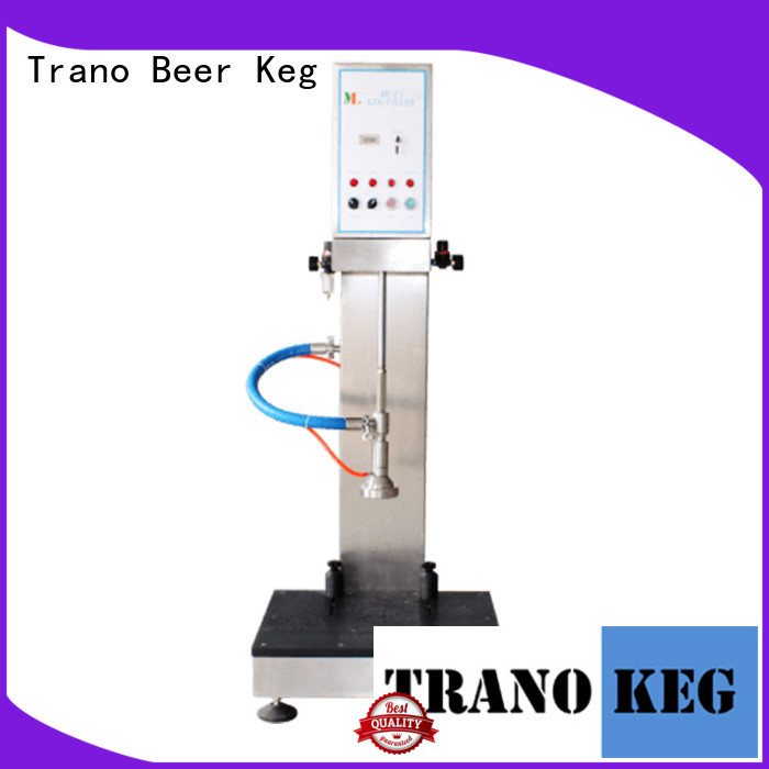 Trano automatic beer keg filling machine wholesale for beverage factory