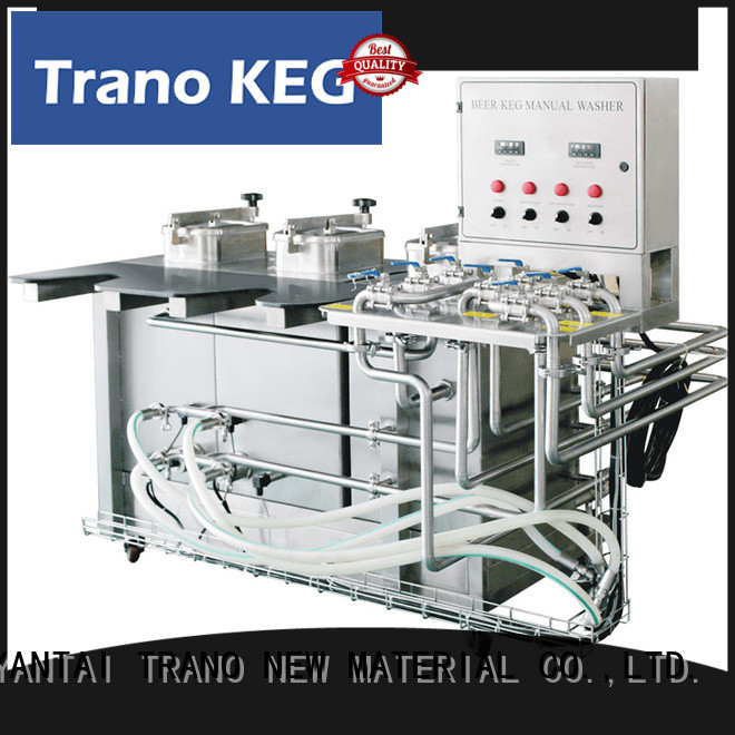 Trano convenient beer keg washing machine supplier for beer