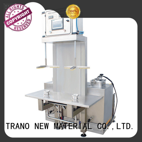 Trano automatic keg washer supplier for beverage factory