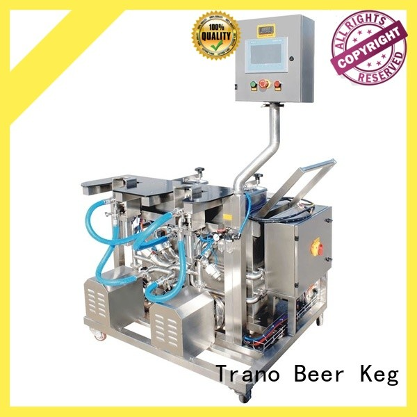 Trano beer keg filling equipment series for food shops