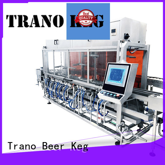 efficient keg washing and filling machine factory price for brewery