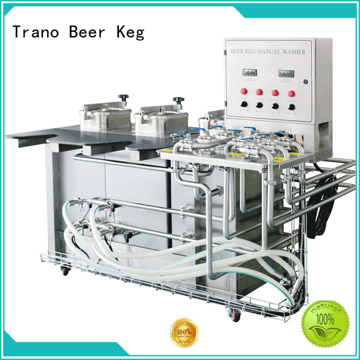 Trano semi-automatic beer keg washing machine manufacturer for beer