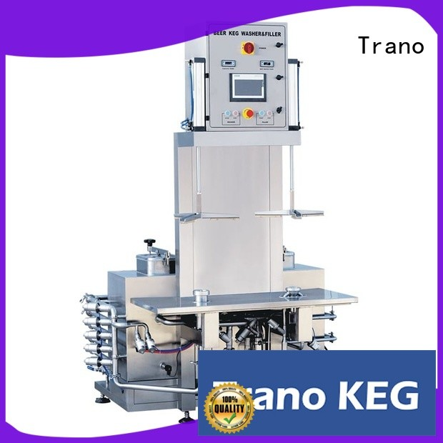 automatic keg washing machine factory direct supply for food shops
