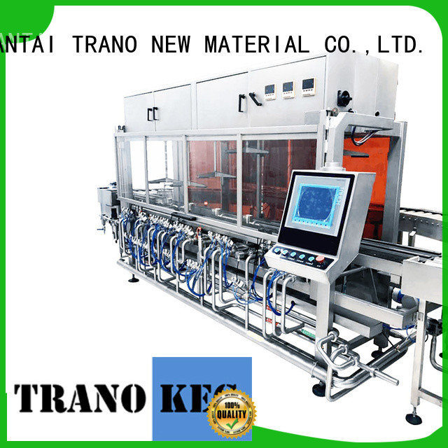 Trano beer keg filling machine directly sale for beverage factory