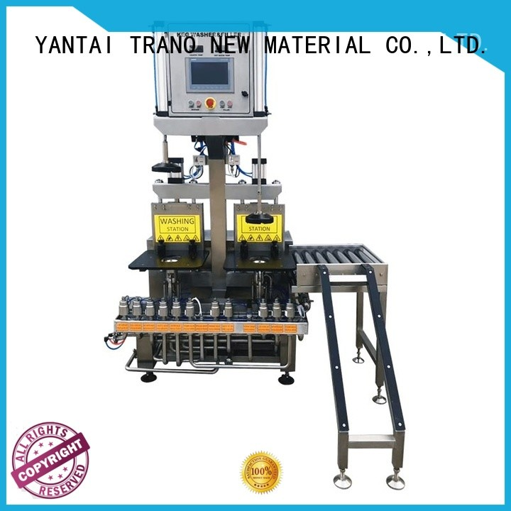 Trano beer keg filling machine factory direct supply for food shops